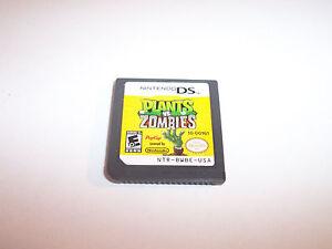 Plants vs. Zombies (Nintendo DS) Lite DSi XL 3DS 2DS Game