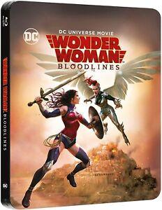 Wonder Woman: Bloodlines [Steelbook] [Blu-ray] [2019] [Region Free] NEW SEALED!