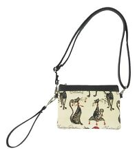 Catitude Cat Design Tapestry Slim Crossbody Bag/Purse Slim  Signare