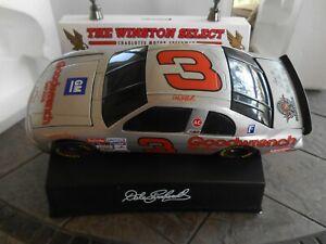 #3 Dale Earnhardt Silver 1995 Monte Carlo 1/24 Track Bank Set.