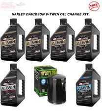 HARLEY DAVIDSON V-Twin Cam MAXIMA Oil Change Kit HiFlo Filter STREET GLIDE 00-15