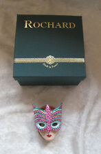 "Limoges--Rochard ""Venice Mask Crown""  Limoges Box MIB"