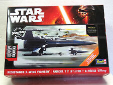 REVELL #85-1632 Plastic Model Kit STAR WARS RESISTANCE X-WING FIGHTER New in box