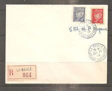 LETTRE FRANCE FRANKREICH ILOT SAINT NAZAIRE PETAIN LA BAULE 1944 LVF WAFFEN WW2