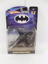 RARE SEALED DC COMICS HOT WHEELS BATMAN RETURNS BATBOAT DIECAST VEHICLE MOC 2009