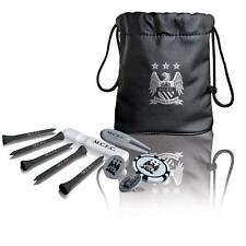 Manchester City FC MAN Tote Bag Golf Golfisti Regalo Set Tees Ball Marker, etc