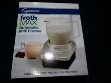 Capresso® Froth Max Automatic Milk Frother in Silver/Black