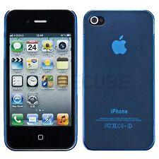 Slim iPhone 4 4G 4S Hard Case Schutz Hülle Cover Bumper Tasche Slim Case Blau