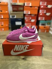Nike Classic Cortez Running Active Fuchsia Women's Shoes 749864 609 Size 5.5