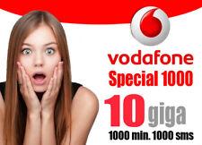 Passa a VODAFONE da tutti SPECIAL 1000 min/sms 10gb 10€ con ritiro in negozio