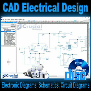CAD Electrical Software, Design & Draw Electrical Circuit Diagrams, Windows CD