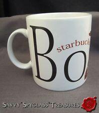 1994 Starbucks Coffee BOSTON Massachusetts City Mug Paul Revere Statue