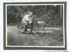 Altes Foto Oldtimer Motorrad um 1925