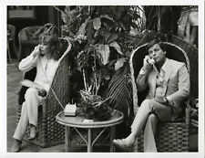 Hart to Hart original 7x9 tv photo sitting in hotel lobby on telephones