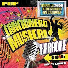 New: Various Artists: Canciones De Pop Karaoke CD Audio CD