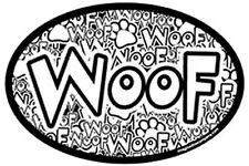 Crazy Woof Euro Magnet