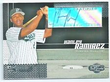 HANLEY RAMIREZ  - CERTIFIED SIGNED/AUTO/AUTOGRAPH ON A BASEBALL CARD - MARLINS
