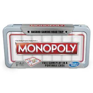 NEW Monopoly - Road Trip Version Kids Children Toy AU