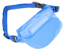 Blue Waterproof Travel Dry Case / Pouch for Vivitar S126 Compact Digital Camera
