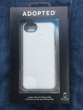 ADOPTED White Leather Texture Wrap Case iPhone 5/5s Cell Phone