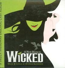 Wicked: A New Musical Selections From PROMO Music CD 2trk Defying Good w/ Art!