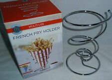 """FRENCH FRY HOLDER  5"""" x 4.375"""" Holds French Fries,Nachos and More"""