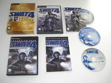 SWAT 4  GOLD Pc Cd Rom S.W.A.T. Base Game + STETCHKOV SYNDICATE Add-On Pack