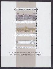 Postfrische Briefmarken aus der BRD (1980-1989) mit Bauwerks-Motiv als Satz