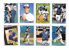 1994 TOPPS MLB BASEBALL TORONTO BLUE JAYS TEAM SET (27) OLERUD,HENDERSON,CARTER