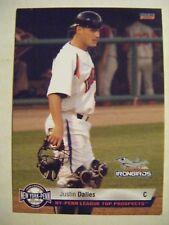JUSTIN DALLES 2010 NYPL Prospects ABERDEEN IRONBIRDS baseball card USC GAMECOCKS