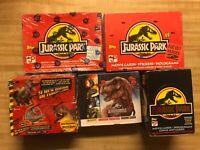 Jurassic Park Card Packs