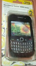 OtterBox Impact Silicone Skin Case for BlackBerry Curve 8520 & 8530 (Black), NEW