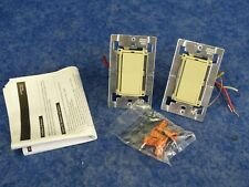 Lightolier CC1000NDPLCI Compose PLC Designer Style Individual Switch Ivory QTY2