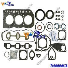 Yanmar 3TN75-RJ 3TN75L/E Overhaul Head Gasket Set For JOHN DEERE 855/856 Tractor