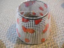Strawberries Fruit B&W Checker Country Modern Vintage Farm Kitchen Lamp Shade 10