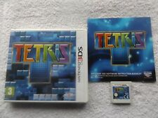 TETRIS NINTENDO 3DS V.G.C. FAST POST ( puzzle game & complete with manual )