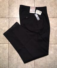 VAN HEUSEN * Mens Black Casual Pants* Size 30 x 32 * NEW WITH TAGS
