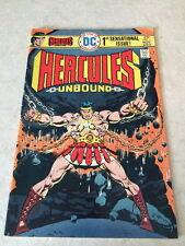 DC COMIC BOOK HERCULES UNBOUND NO 1 1975 BRONZE AGE