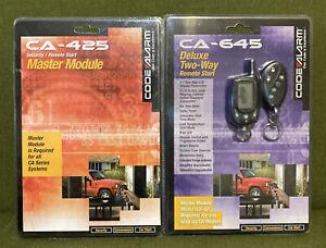 Codealarm  CA-425 Master Module W/ CA-645 Deluxe Two-Way Remote Starter New!