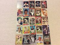HALL OF FAME Baseball Card Lot 1977-2020 WILLIE MAYS WILLIE McCOVEY DEREK JETER