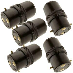 48 Pcs B22 Socket Extension Plug 5Amp 240V B22 Adapter