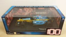 Hot Wheels Racing 1:18 RENAULT F1 TEAM 100th GP WIN Sakhir/Bahrain RARE