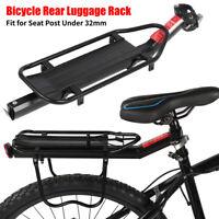 Universal Bike Bicycle Rear Seat Post Luggage Rack Cargo Bag Carrier Pannier MTB