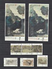 China Hong Kong 2020 Museum Collection Painting stamp set Zhang Daqian