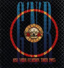 GUNS N ROSES 1993 USE YOUR ILLUSION TOUR CONCERT PROGRAM BOOK / EX 2 NEAR MINT