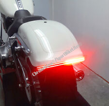 LED Run/Brake/Turn Double Light Bar for H-D Softail Fat Boy 2018 and up - Red