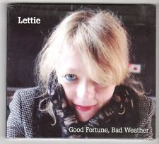 (GX355) Lettie, Good Fortune Bad Weather - 2011 sealed CD