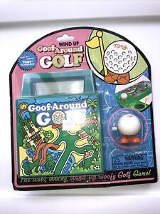 VTG Tomy Goof Around Golf Wind Up Ball Game, High Quality NEW!