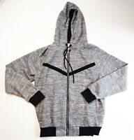 Hudson Outerwear mens 100% authentic L/S zip up hoodie size large gray