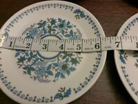 Noritake Progression China Blue Moon 9022 4  Bread And Butter Plates